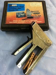 Grandpa's staple gun