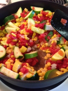 Cheesy Calabacitas
