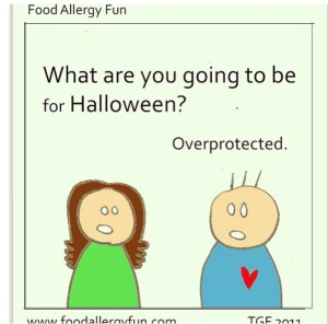 Photo/cartoon credit: www.foodallergyfun.blogspot.com