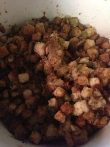 Crock Pot Stuffing