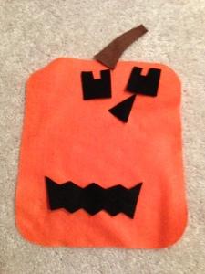 Jack-o-lantern Busy Bag