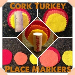 Wine Cork Turkeys