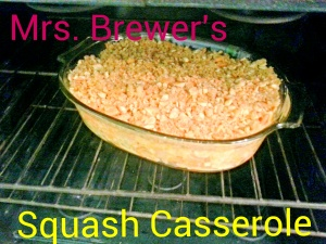 Mrs. Brewer's Squash Casserole