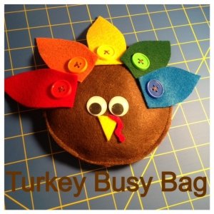 Turkey Busy Bag