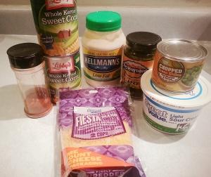 CornDip ingredients