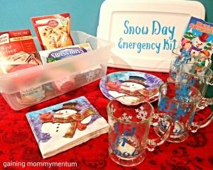 snow day emergency kit