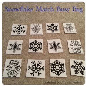 Snowflake Match-Up