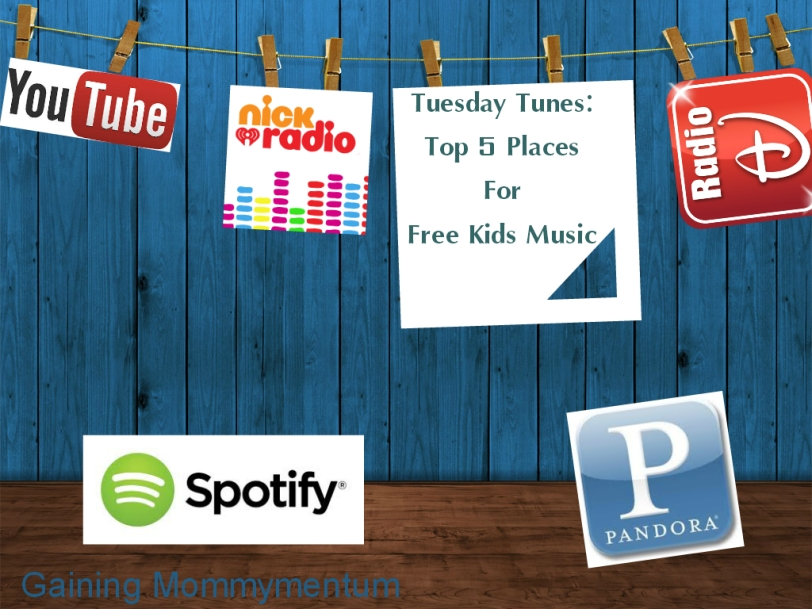 Top 5 Places for Free Kids Music