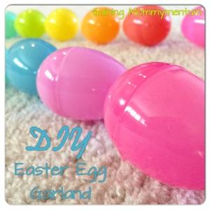 DIY Easter Egg Garland