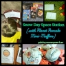Space Station and Planet Pancake Mini-Muffins