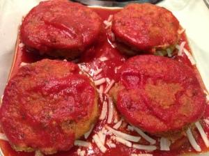 Top 8 Allergen Free Eggplant Parmesan