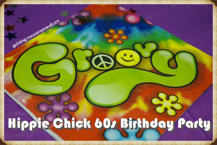 hippie chick 60s birthday party