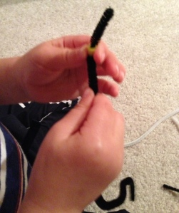 Pipe Cleaner Bead Stringing Busy Bag
