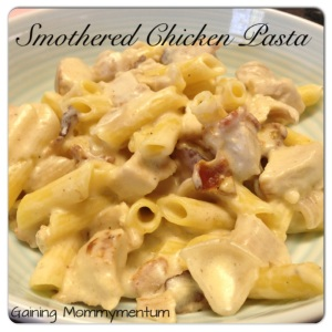 Smothered Chicken Pasta