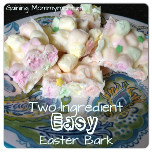 Two-Ingredient Easy Easter Bark