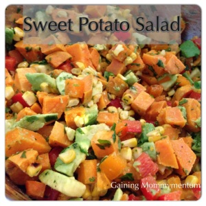 Sweet Potato Salad | Gaining Mommymentum