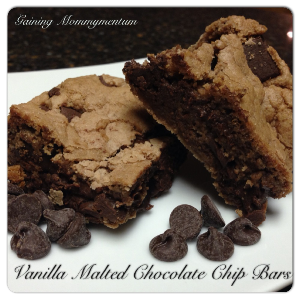 Loaded Malted Chocolate Chip Cookie Bars Recipes — Dishmaps