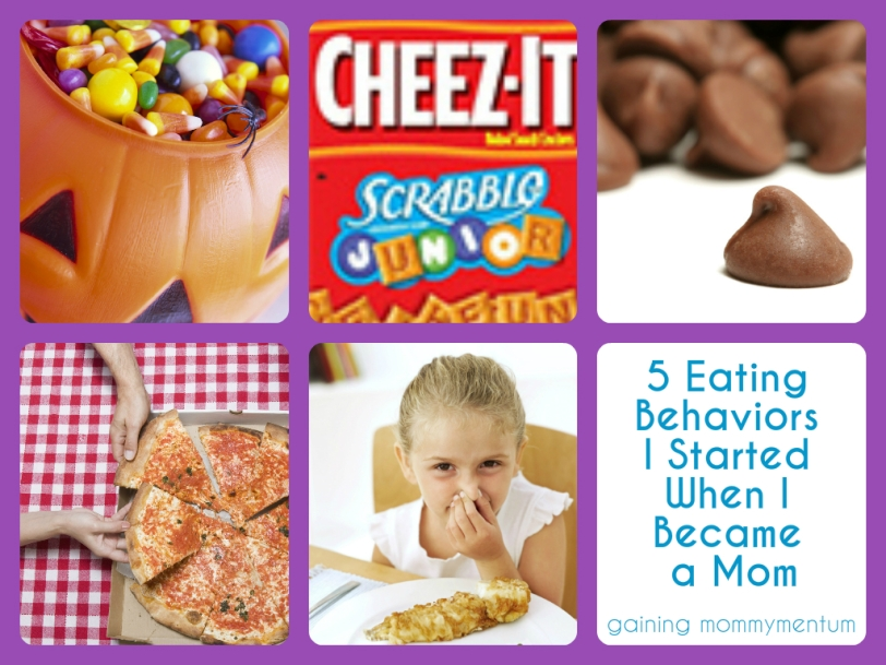 5 eating behaviors