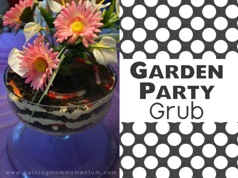 garden party grub